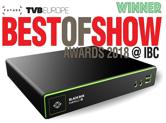 IBC 2018 - Best of Show Award