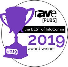Award - Best of InfoComm 2019