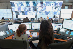 control rooms, control bridge