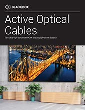 Active Optical Cables for AV