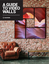 Guide to Video Wall Brochure Cover