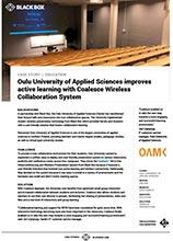 Oulu University Case Study