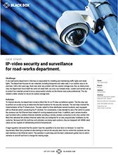 Road Works IP Security Case Study