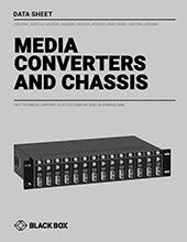 Media Converters Data Sheet