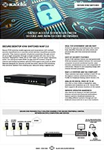 Secure KVM Switches Flyer