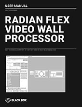Radian Flex User Manual