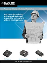Power-over-Ethernet - Industrial Applications