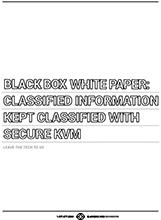 Secure KVM White Paper
