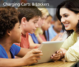 Charging Carts & Lockers