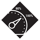 Uptime Dial Icon