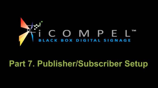 iCompelDemo-setUpSubscriberPublisher